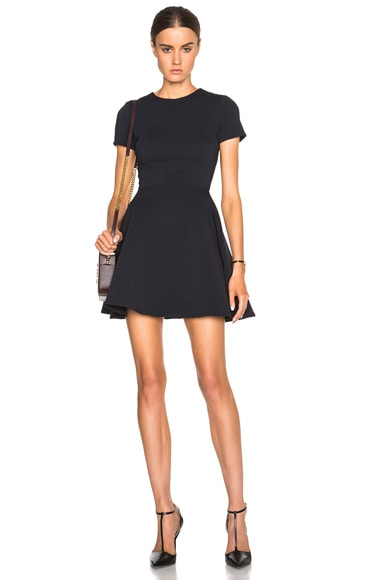 Opening Ceremony Clos Flare Dress in Black