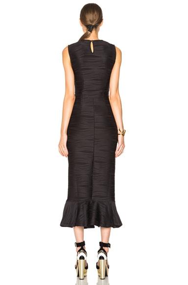 Wavy Stripe Maxi Dress