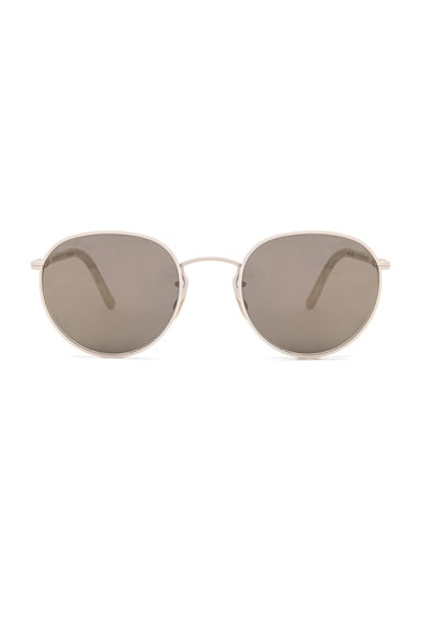 Oliver Peoples Hasset Sunglasses in Bone