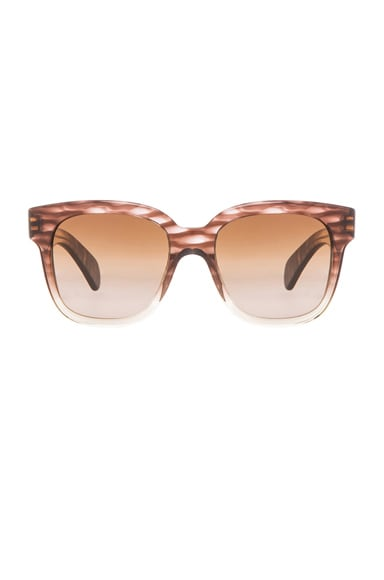 Oliver Peoples Brinley Sunglasses in Henna Gradient