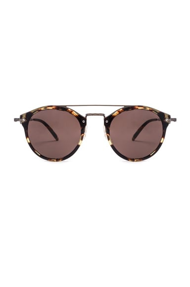 Oliver Peoples Remick Sunglasses in Vintage & Antique Gold