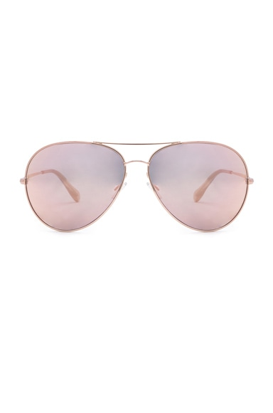 Oliver Peoples Sayer Sunglasses in Rose Gold