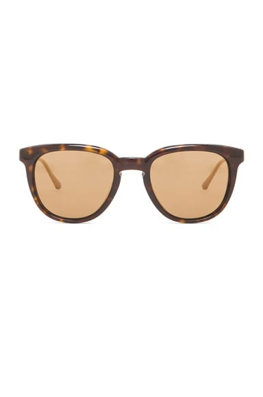 Oliver Peoples WEST Polarized Beech Sunglasses in Oak