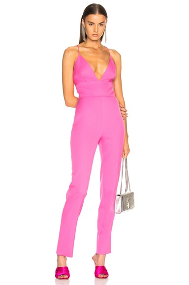 Strappy Back Sleeveless Jumpsuit