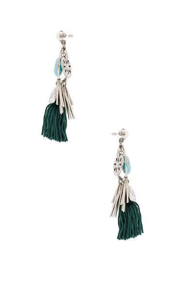 Tassel Charm Earrings