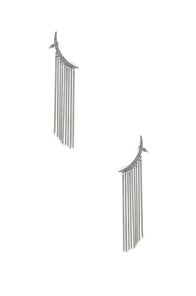 Tendril Drop Earrings