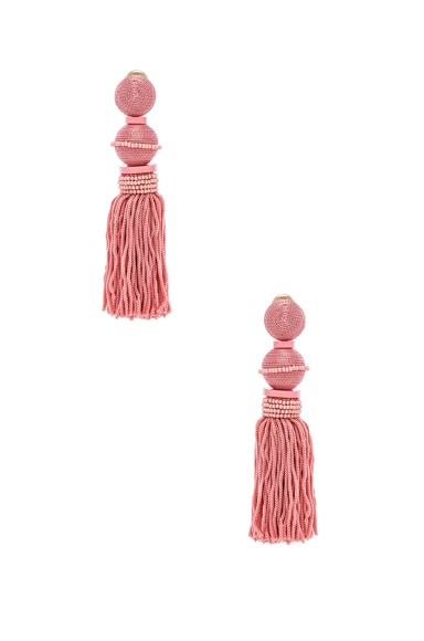 Ball Tassel Earrings