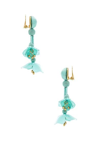 Falling Flower Earrings