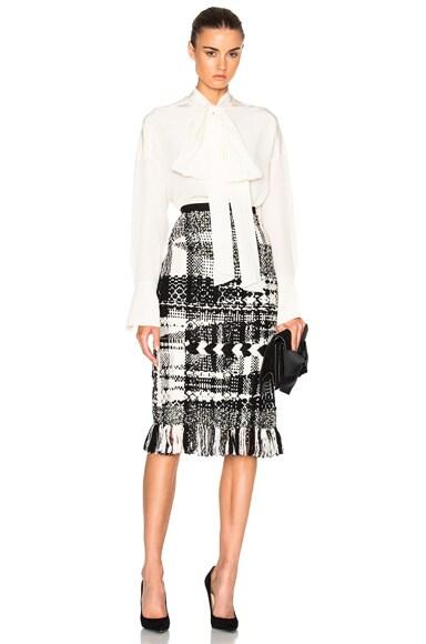 Handmade Fringe Skirt