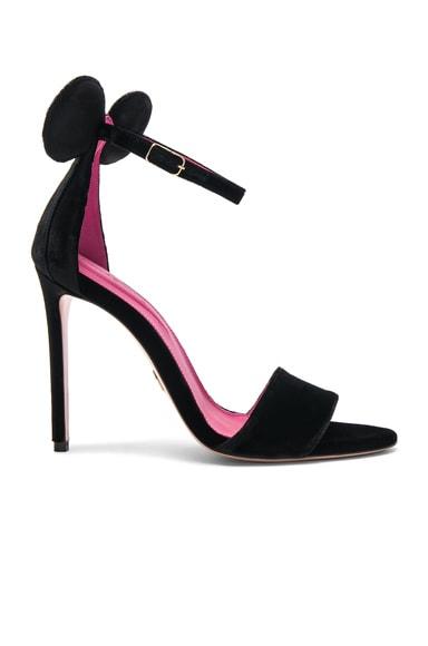 Velvet Minnie Sandals