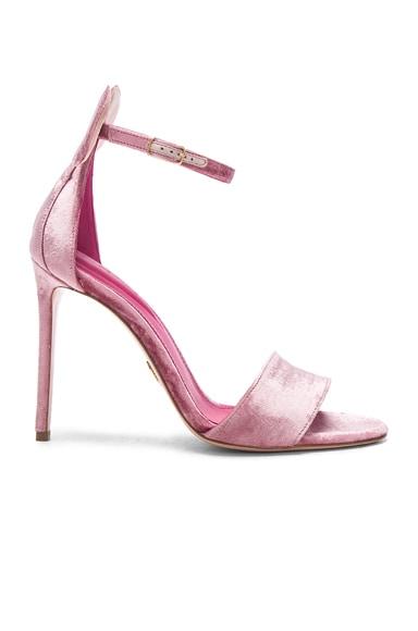 Velvet Minnie Sandals Oscar Tiye