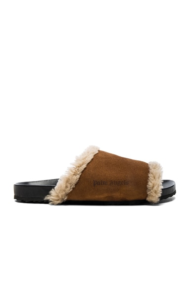 Lamb Shearling Slides