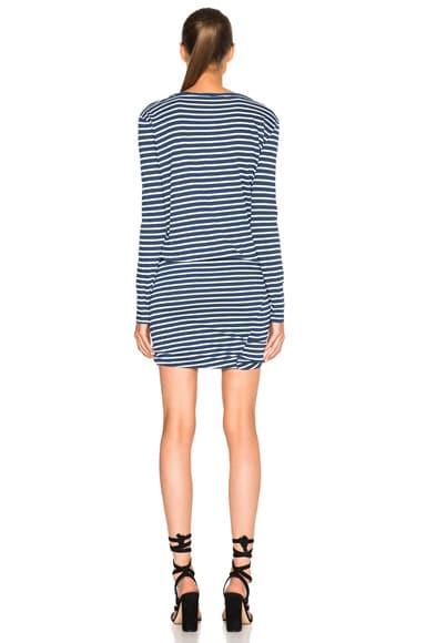 Long Sleeve Henley Dress