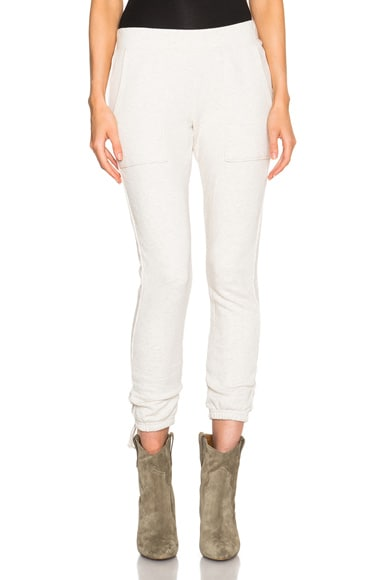 Pam & Gela Lace Up Pant in Oatmeal