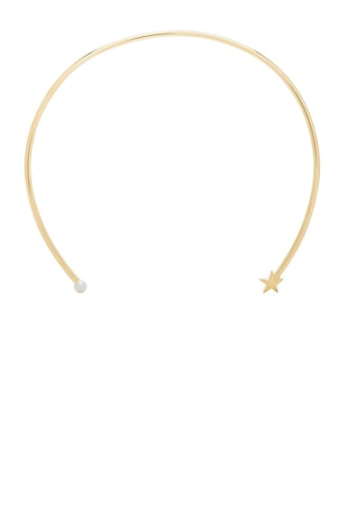 Pamela Love Star Age Collar Necklace in 10K Yellow Gold