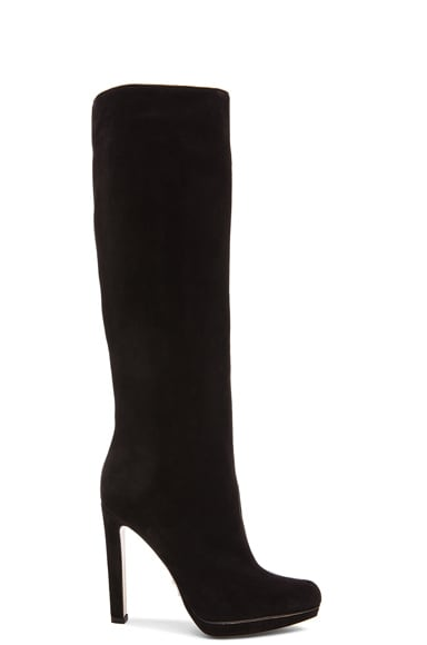 Paul Andrew Greenwitch Suede Boots in Black
