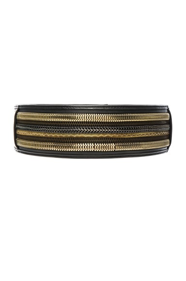 Pierre Balmain Wide Belt in Black