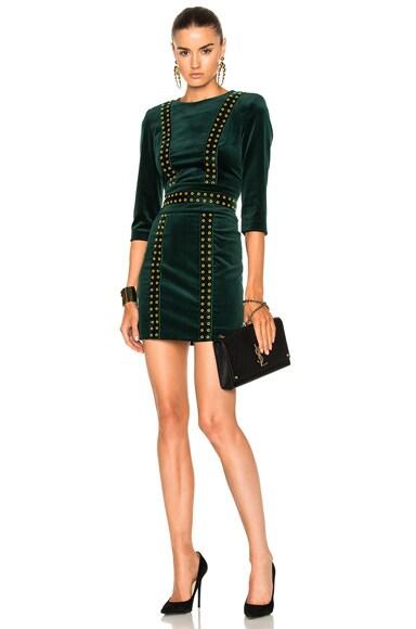 Velvet Studded Dress