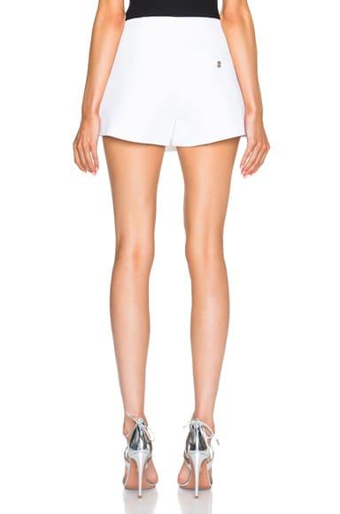 Button Mini Shorts