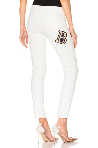 Pierre Balmain Skinny in Off White