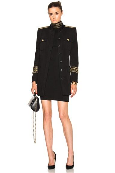 Military Midi Coat