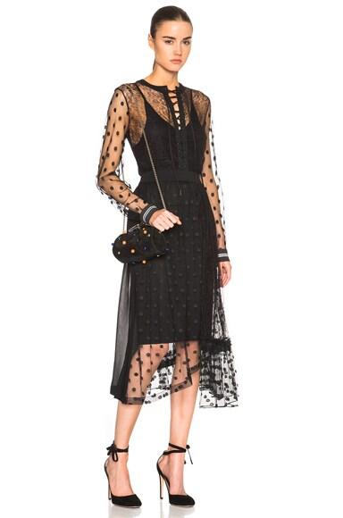 Preen by Thornton Bregazzi Elin Dress in Black