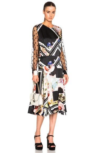 Preen by Thornton Bregazzi Erin Dress in Flower Block