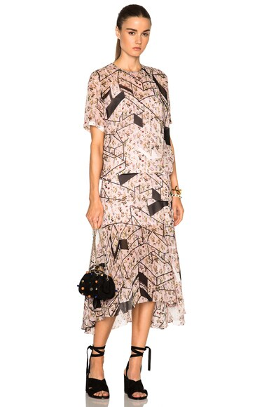 Preen by Thornton Bregazzi Talulah Dress in Nude