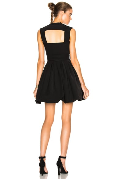 Preen by Thornton Bregazzi Cherry Bomb Dress in Black