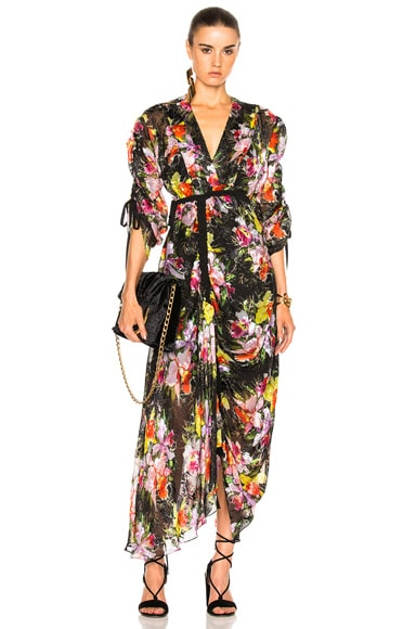 Preen by Thornton Bregazzi Cora Dress in Tin Flower