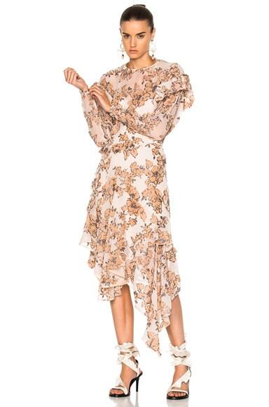 Preen by Thornton Bregazzi Dyani Dress in Nude