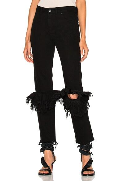 Preen by Thornton Bregazzi Neala Jeans in Black