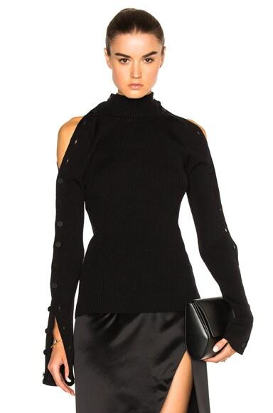 Preen by Thornton Bregazzi Mara Sweater in Black