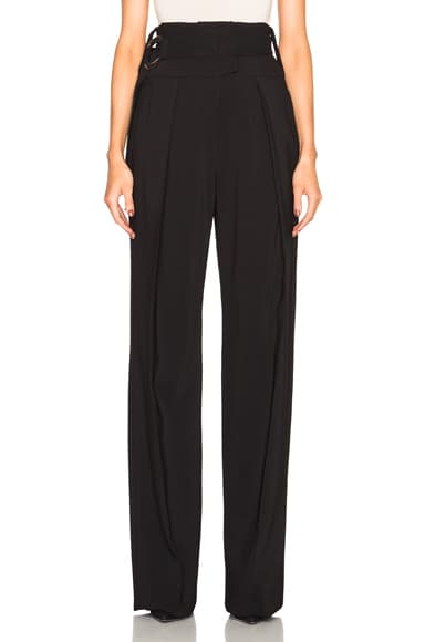 Preen by Thornton Bregazzi Lexie Trousers with Belt in Black