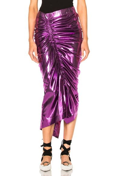 Preen by Thornton Bregazzi Jacy Skirt in Purple