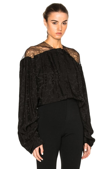 Preen by Thornton Bregazzi Reno Top in Black