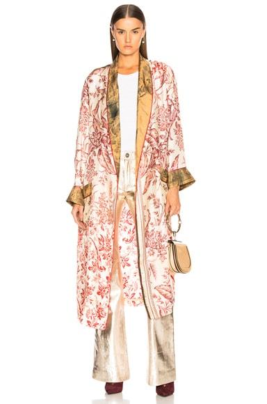 Aloeuw Patchwork Robe