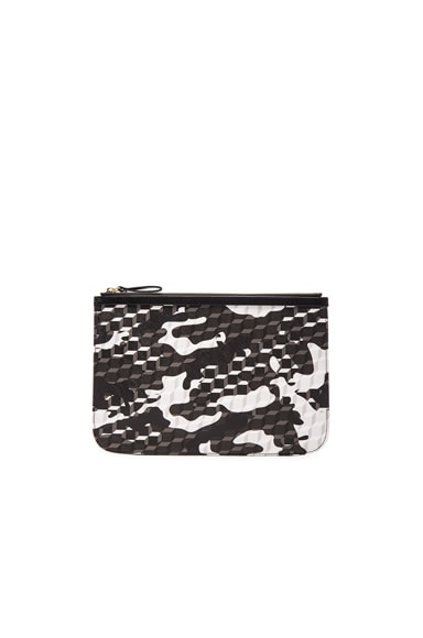 Pierre Hardy PM Pouch in Black & White