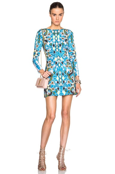 Peter Pilotto Dice Dress in Turquoise