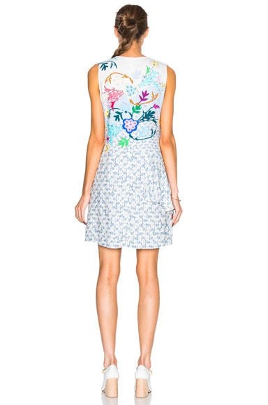 Viscose Crepe Asymmetric Dress