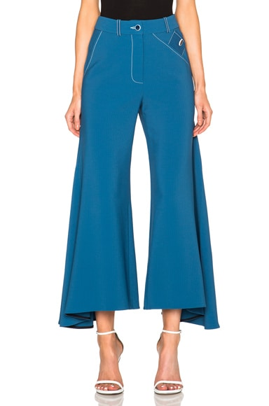 Peter Pilotto Safari Pants in Petrol