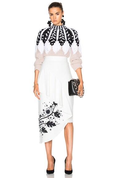 Printed Cady Skirt