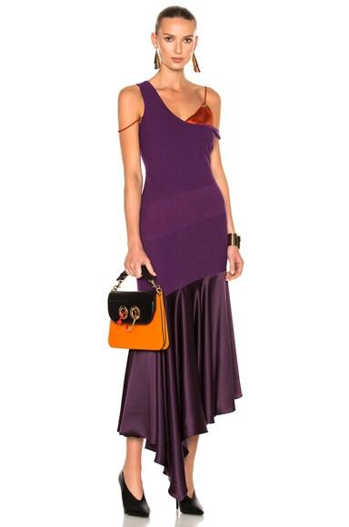 Prabal Gurung Knit Dress in Violet