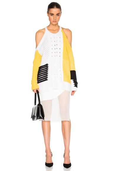 Open Shoulder Cashmere Sweater