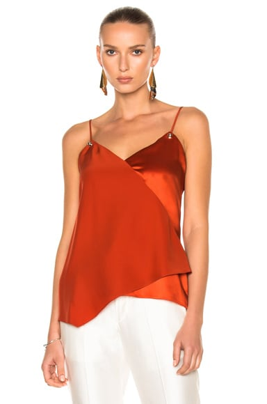 Prabal Gurung Cami in Red Clay