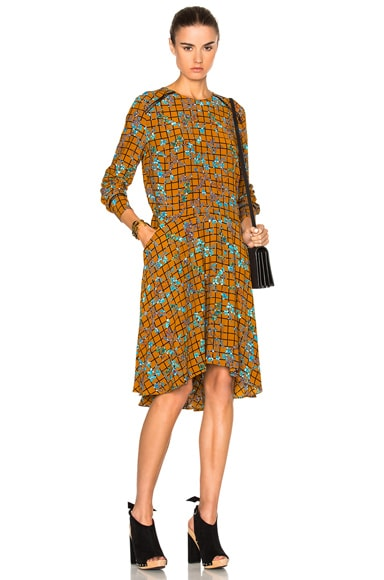 Preen Line Lydia Dress in Cinnamon Floral