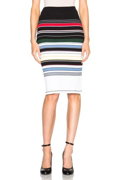 Preen Line Ockie Skirt in Multi Stripe