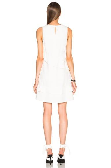 Asymmetrical Flare Dress