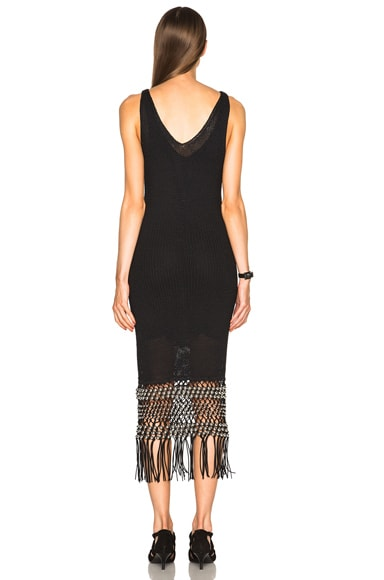 Macrame Open Stitch Dress