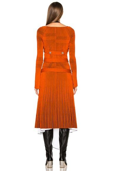 Fine Rib Knit Dress